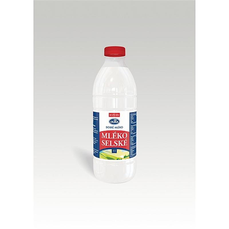 Bio selské mléko pasterované 1l
